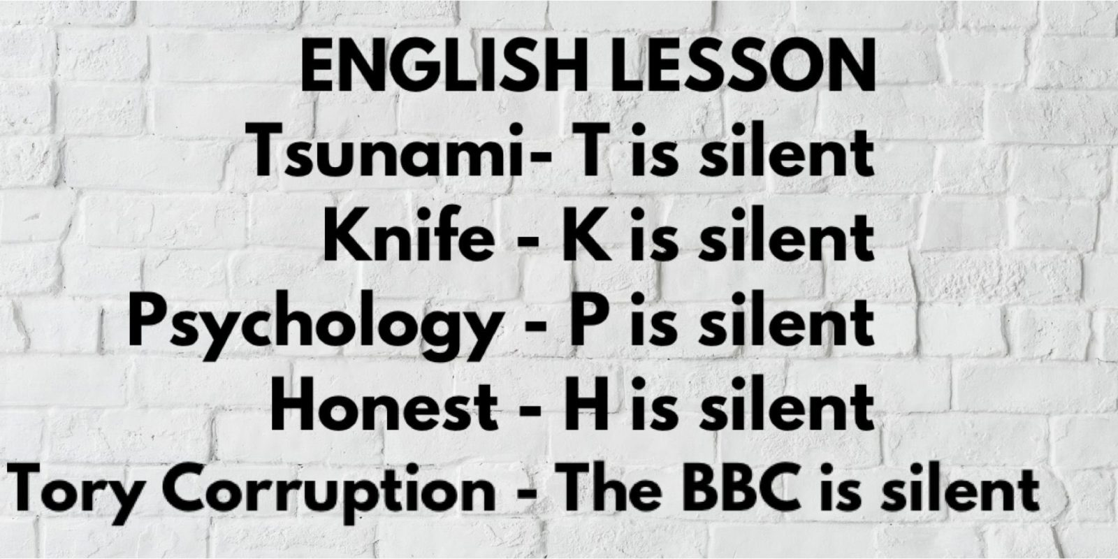 BBC = Bought By Conservatives