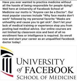 University of facebook