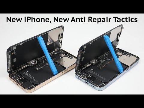 iPhone 13 A Repair Nightmare– Teardown and Repair Assessment – YouTube