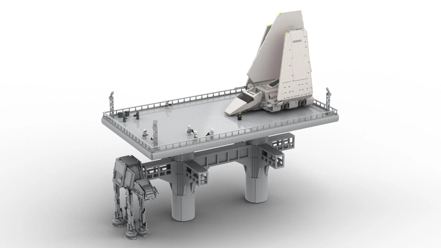 Lego Endor landing pad