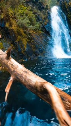 Crystal clear Alaskan water